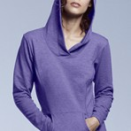 Ladies Hooded French Terry
